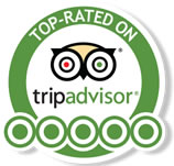 Top Rated on Trip Advisor!